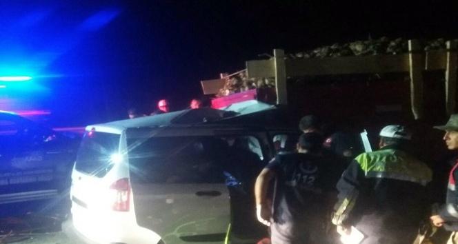 Elazığda trafik kazası: 1 ölü