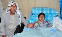 Baba oğul, Suriyeden gelen mermilerle yaralandı