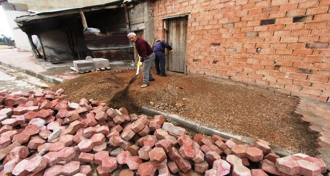 Bayburt'ta belediye çalışmaları devam ediyor