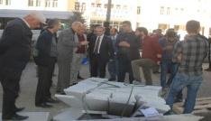 Başkan Epcim, asfalt çalışmalarını denetledi