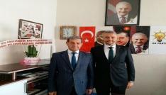 Başkan Özkandan Adil Biçere hayırlı olsun ziyareti