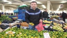 Vitamin deposu kış meyveleri tezgahlarda yerini aldı