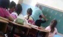 'D' harfini yazamayan öğrenciye öğretmenden dayak