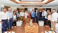 Dokuz Eylüllülerden Başkan Uysala ziyaret