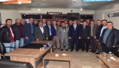 Başkan Yağcı, AK Parti Pazaryeri İlçe Teşkilatı üyeleri ile bir araya geldi
