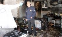 Marmariste kafe yangını, 2 yaralı