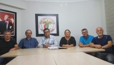Tabip Odası Yönetiminden Başkan Karagözlüye destek