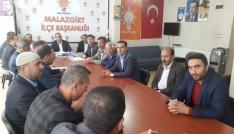 AK Partiden istişare toplantısı