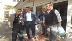 Başkan Tutal, Arasta Çarşısı esnafını ziyaret etti