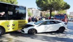 Aydında trafik kazası 3 yaralı