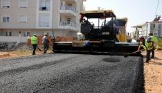 Şelaleye 4 bin 500 ton asfalt