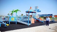 Serik Belediyesinden modern parklar