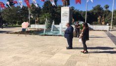 Atatürke sırtını dönemedi