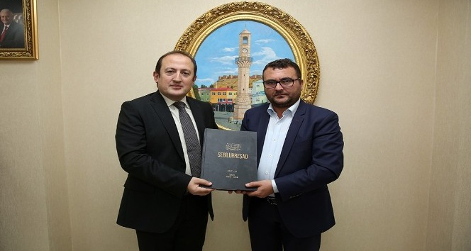 Sebilürreşad dergisi yazarları Vali Ali Hamza Pehlivanı ziyaret etti