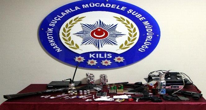 Kilis ve Gaziantepte uyuşturucu operasyonu