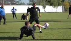 Eskişehirspor hazırlıklarını sürdürüyor
