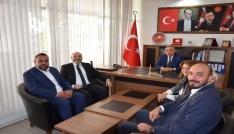 Mehmet Eşsize ilk hayırlı olsun ziyareti Başkan Ali Çetinbaştan
