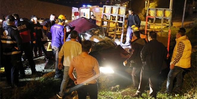 Zonguldak'ta feci kaza: 1 ölü