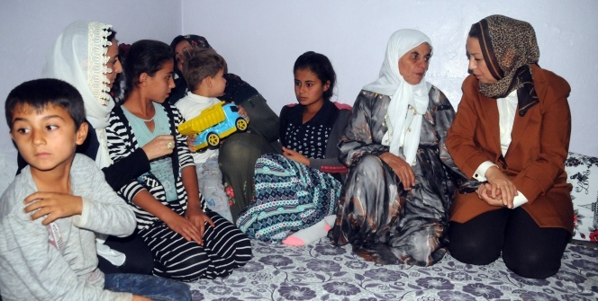 Cumhurbaşkanı Erdoğan, acılı aileyi teselli etti