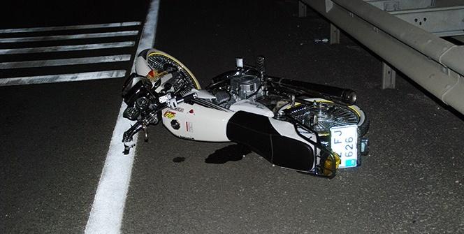 Edirne'de motosiklet traktöre çarptı: 2 ölü