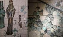 Roma dönemine ait 141 parça tarihi eser yakalandı