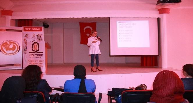 Kızıltepede Kadın hastalıklarına karşı önlem semineri