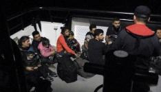 Bitezde 24 düzensiz göçmen yakalandı