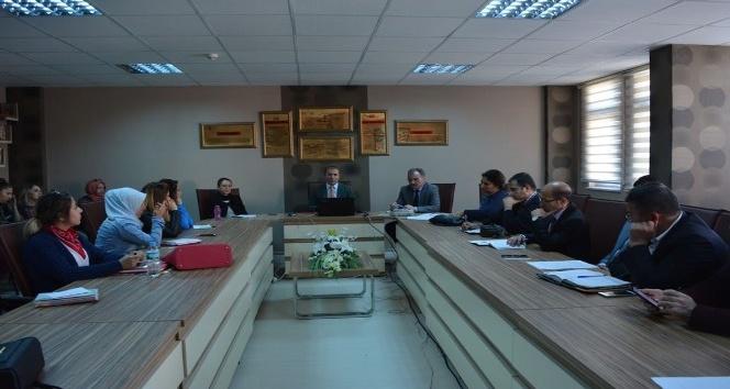 Osmaneli İlçe Milli Eğitim Müdürlüğünün proje hazırlığı toplantısı