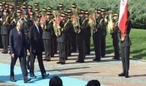 Başbakan Yıldırım, Cihangiriyi resmi törenle karşıladı