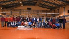 Korkuteli Kurumlararası Voleybol Turnuvası sona erdi