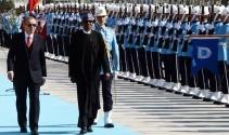 Cumhurbaşkanı Erdoğan, Nijerya Cumhurbaşkanı Buhariyi resmi törenle karşıladı