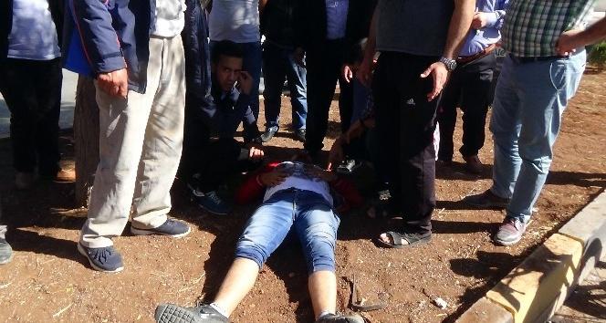 Kiliste motosiklet yayalara çarptı: 2si ağır 4 yaralı