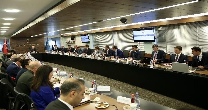 Çanakkale Savaşları Gelibolu Tarihi Alan Başkanlığı Koordinasyon Kurulu Toplantısı Ankarada yapıldı