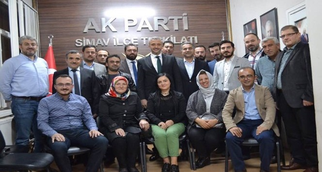 Simav AK Partide ilk toplantı