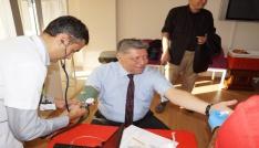 Aydın Emniyet Müdürü 51inci kez kan bağışladı