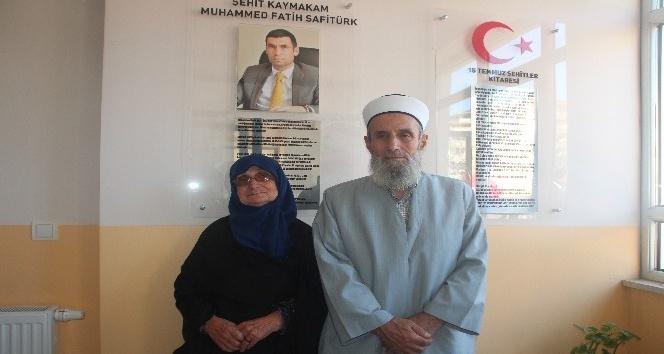 Şehit Kaymakam Safitürkün anne ve babasını duygulandıran açılış