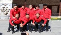 Ampute Futbol Milli Takımından Mevlana Müzesini ziyaret