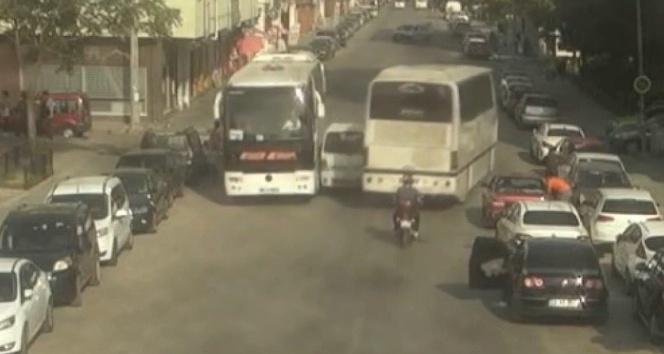 Eskişehirde kameralara yansıyan trafik kazaları
