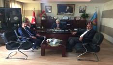 SGK Müdürü Göksoydan Başkan Tuğrula ziyaret