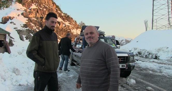 Artvinde kar yağışı hayatı olumsuz yönde etkiledi