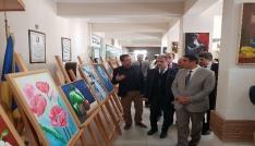 Çankırı Belediye Başkanı resim yaptı