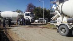 Elazığda beton mikseri kazası: 1 ölü
