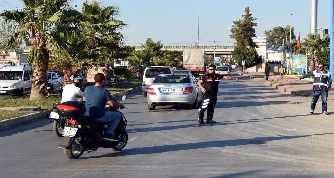 Antalyada çalıntı motosikletler yakalandı