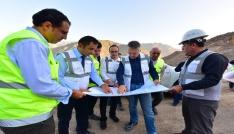 DSİ Genel Müdürü Acudan Yusufeli Barajına sıkı takip