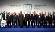 Erdoğan, İstanbuldaki D-8 zirvesinde önemli açıklamalarda bulundu