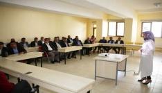 Karamanda belediye otobüs şoförlerine hizmet içi eğitim verildi