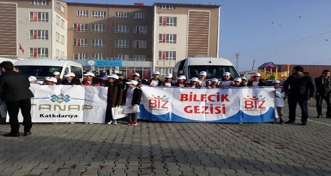 Biz Anadoluyuz Projesi kapsamında Ardahanda ilk öğrenci kafilesi uğurlandı
