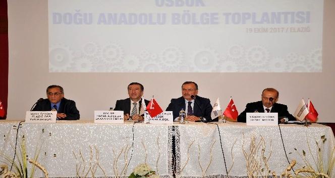 """OSBÜK Başkanı Kütükcü: """"Doğu Anadoluyu OSBler kalkındıracak"""""""