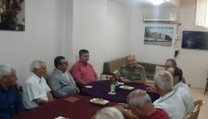 Tuğgeneral İlbaştan TEMAD Adana Şubesine ziyaret