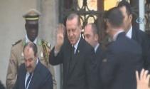 Erdoğan, cuma namazını Bezm-i Alem Valide Sultan Camiinde kıldı